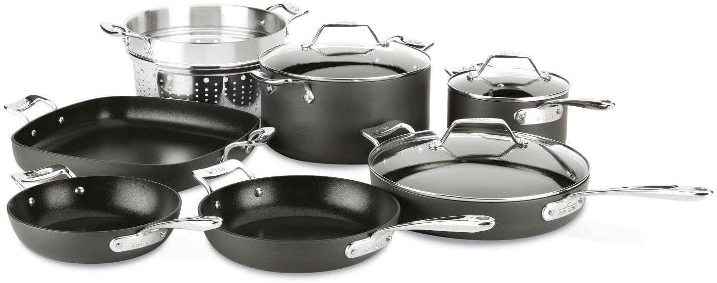 All-Clad Essentials Nonstick Cookware Set