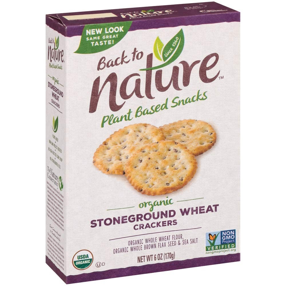Back to Nature Wheat Crackers