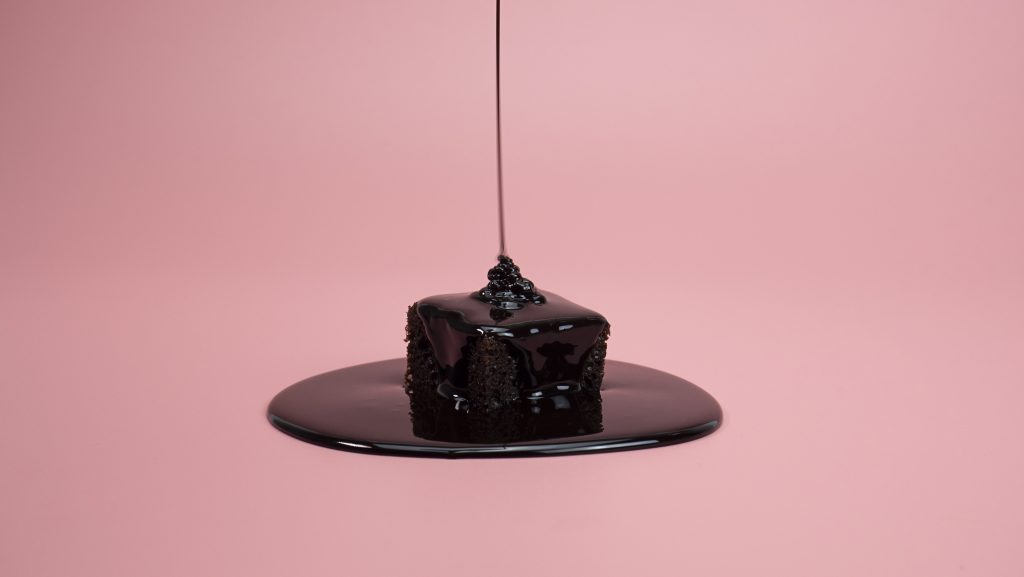 Chocolate covered brownie