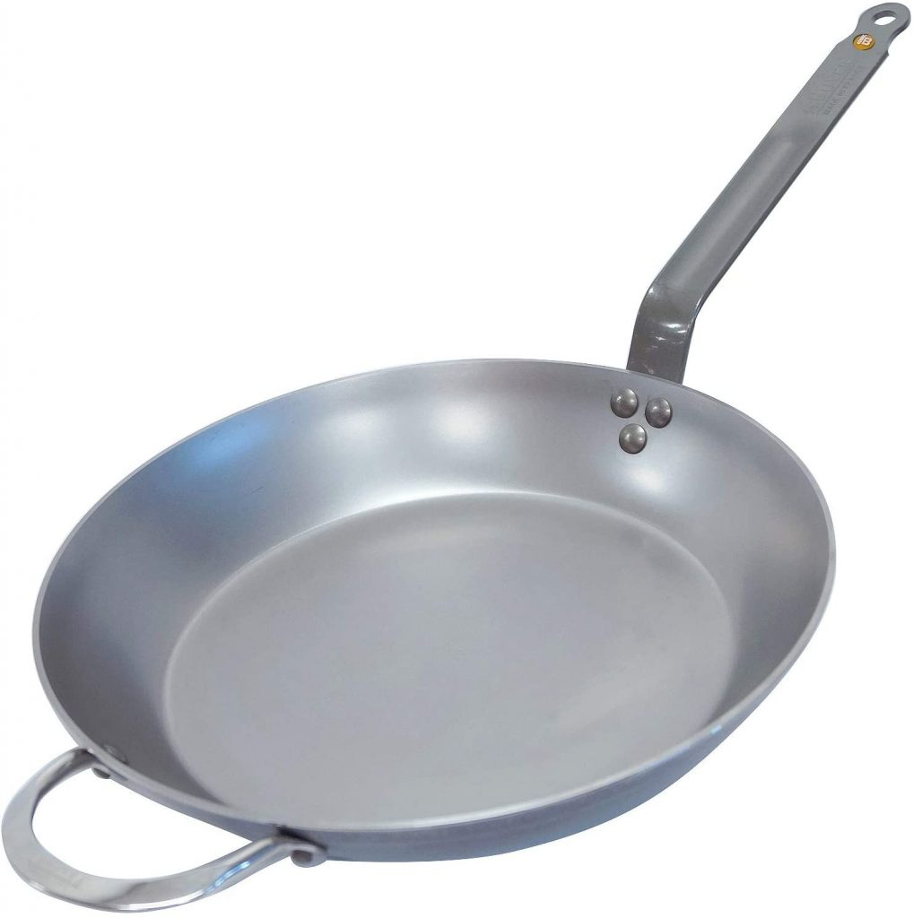De Buyer Mineral B Carbon Steel Frying Pan