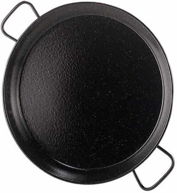 Garcima 12-Inch Enameled Steel Paella Pan