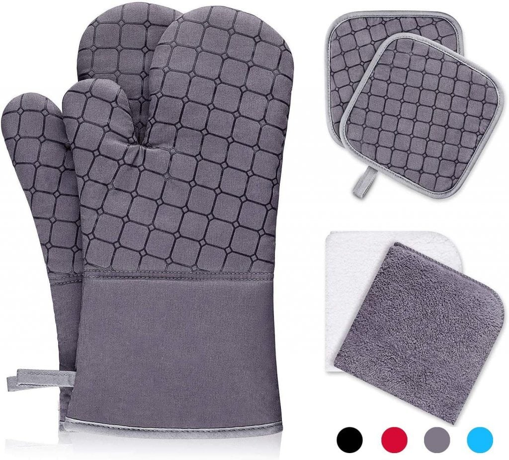 IXO Oven Mitts and Pot Holders