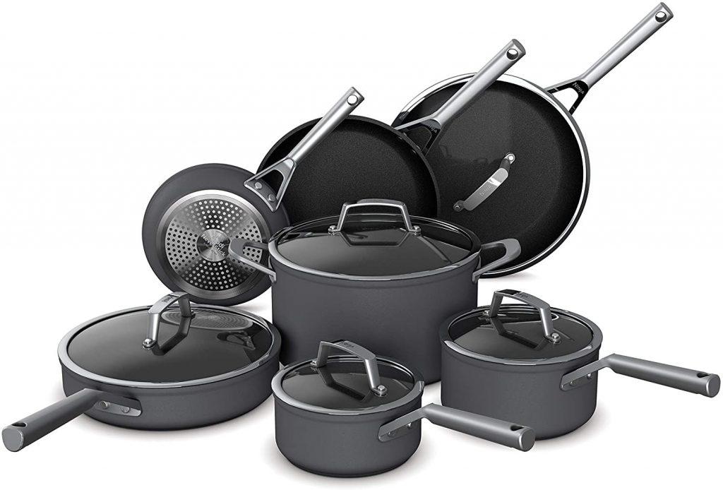 Ninja Foodi NeverStick Premium Hard-Anodized Cookware Set