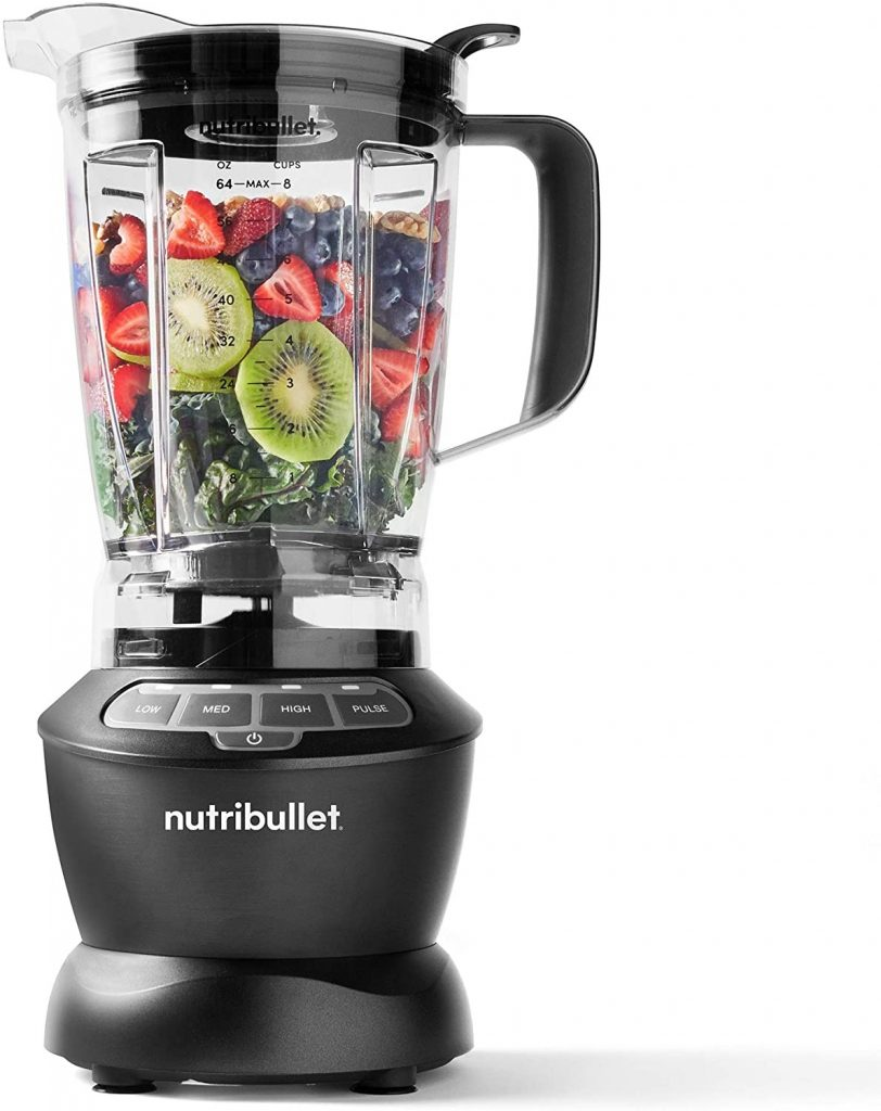 NutriBullet ZNBF30500Z Blender with fruits in it