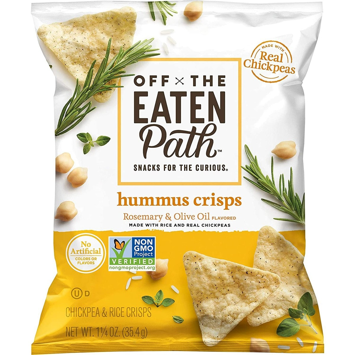 Off The Eaten Path Hummus Chips
