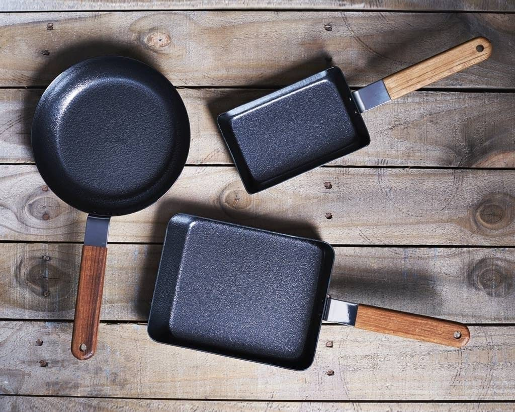 Omelette Pan with different styles