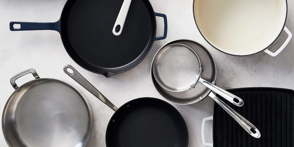 Pots and Pans for Gas Stoves set