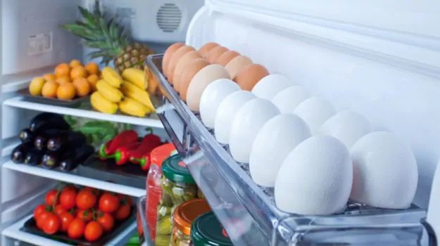 Refrigerated vegetables, fruits and eggs