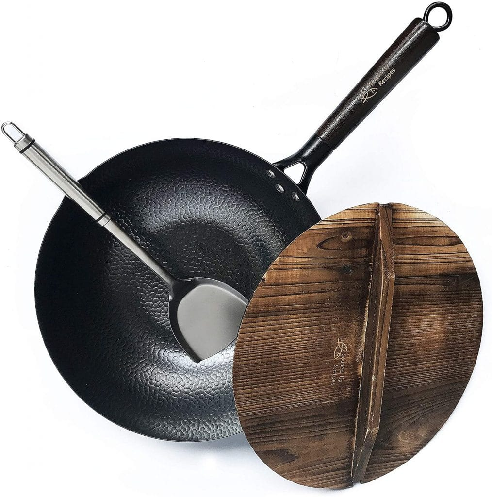 Souped Up Recipes Carbon Steel Wok