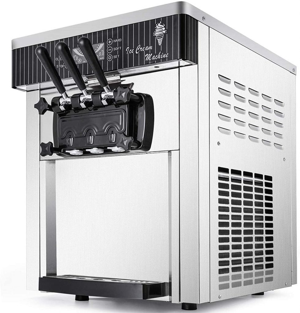 VEVOR Commercial Soft Serve Ice Cream Machine