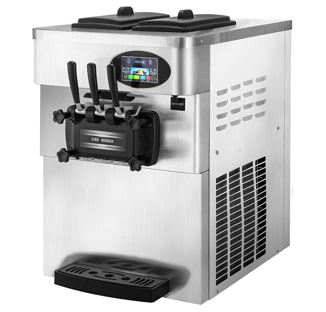 VEVOR Commercial Soft Served Ice Cream Machine