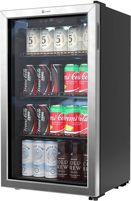 Vremi Beverage Refrigerator