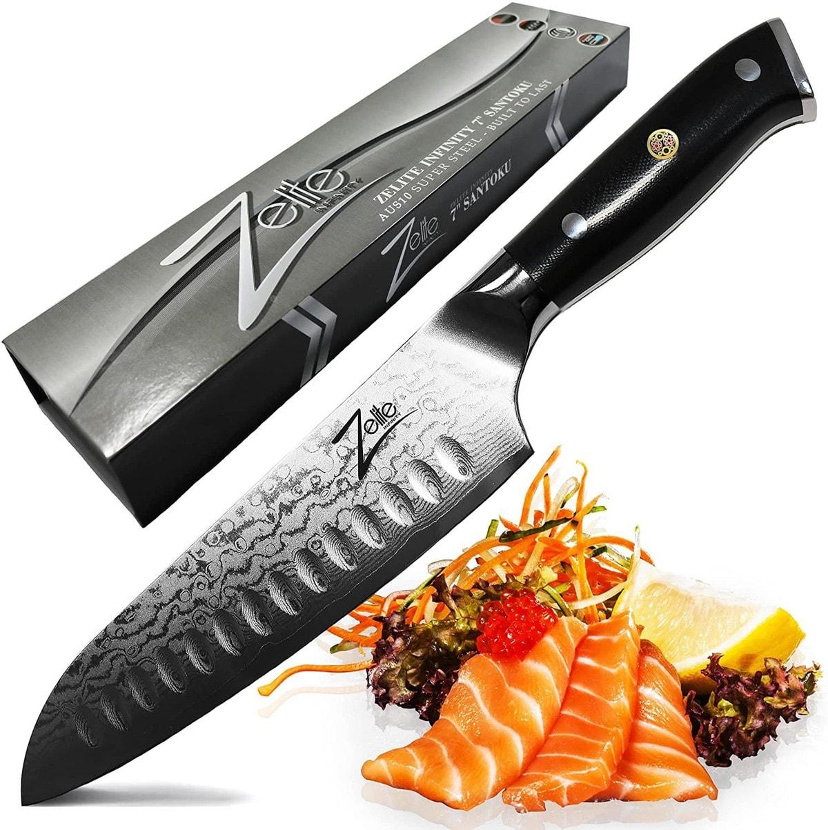 Zelite Infinity 7-inch Santoku Knife