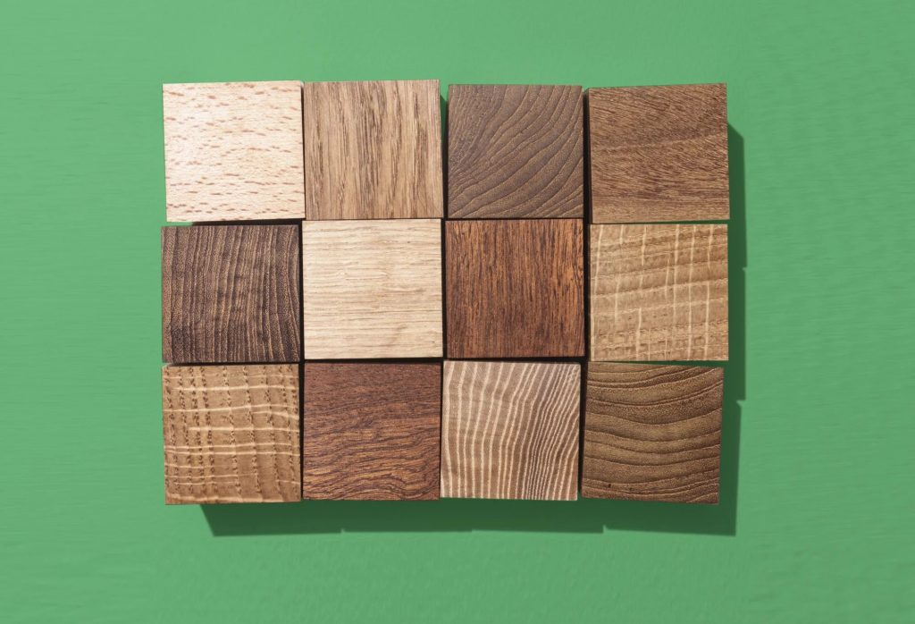 different woods for cutting board